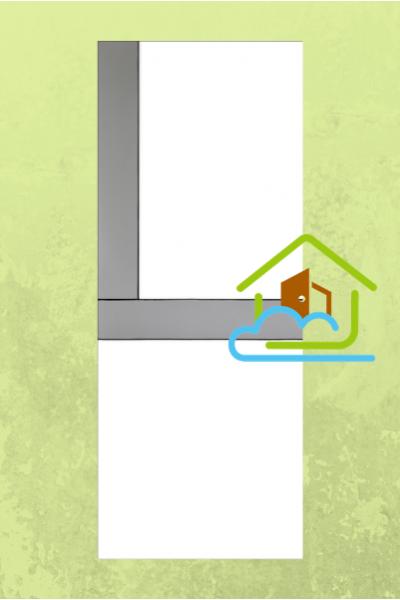 清新系列 - 三色線條 - 房門