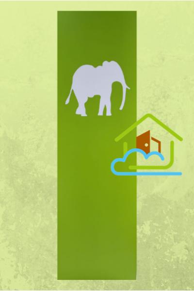 清新系列 - 大象花件 - 房門