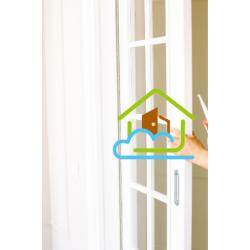 玻璃木門 - 廚房門